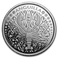 2018 Anguilla 1 oz Silver Lobster BU