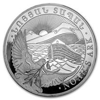 2018 Armenia 1 kilo Silver 10000 Drams Noah's Ark