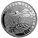 2018 Armenia 1 oz Silver 500 Drams Noah's Ark BU