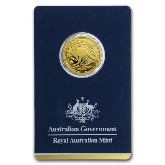 2018 Australia 1/4 oz Gold RAM Kangaroo (In Assay)