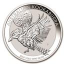 2018 Australia 1 kilo Silver Kookaburra BU