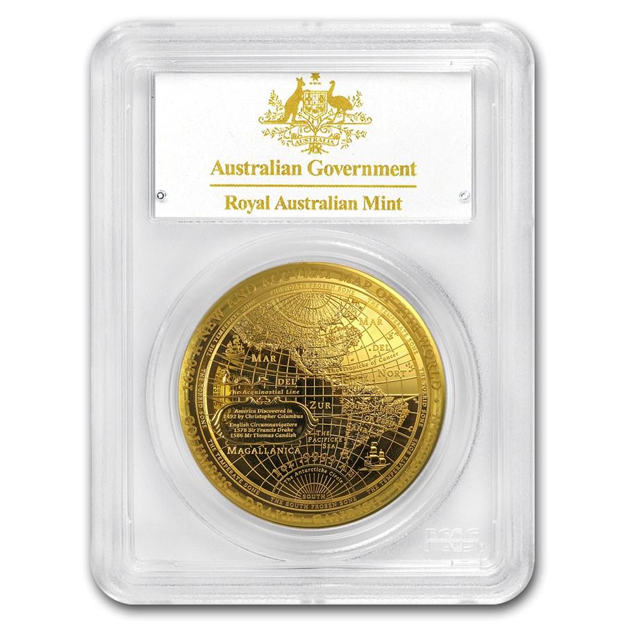 2018 Australia 1 oz Gold $100 Western Hemisphere PR-70 PCGS (FS)