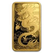 2018 Australia 1 oz Gold Dragon Proof