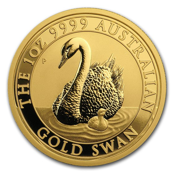 2018 Australia 1 oz Gold Swan BU