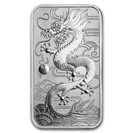2018 Australia 1 oz Silver Dragon BU