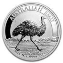 2018 Australia 1 oz Silver Emu BU
