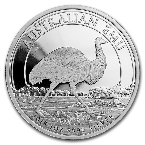 2018 Australia 1 oz Silver Emu Proof (Capsule Only)