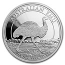 2018 Australia 1 oz Silver Emu Proof