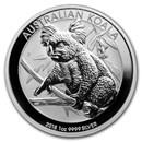 2018 Australia 1 oz Silver Koala BU