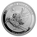 2018 Australia 1 oz Silver Kookaburra BU (Dog Privy)