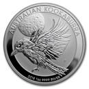 2018 Australia 1 oz Silver Kookaburra BU