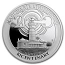 2018 Australia 1 oz Silver Macquarie Lighthouse Bicentenary Proof