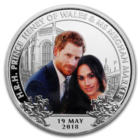 2018 Australia 1 oz Silver Royal Wedding Proof