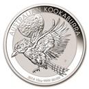 2018 Australia 10 oz Silver Kookaburra BU