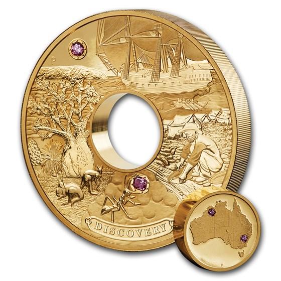 2018 Australia 2 Kilo Gold Proof Multi-Million Dollar Discovery