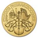 2018 Austria 1/10 oz Gold Philharmonic BU