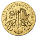 2018 Austria 1 oz Gold Philharmonic BU