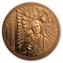 2018 Austria Copper €10 Guardian Angels (Raphael)
