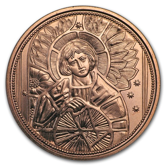 2018 Austria Copper €10 Guardian Angels (Uriel)