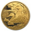 2018 Austria Proof Gold €100 Wildlife in our Sights (The Mallard)