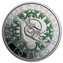 2018 Austria Proof Silver €10 Guardian Angels (Raphael)
