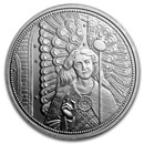 2018 Austria Silver €10 Guardian Angels (Raphael)