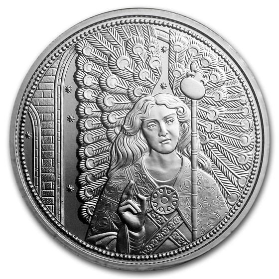 2018 Austria Silver €10 Guardian Angels (Raphael)