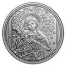 2018 Austria Silver €10 Guardian Angels (Uriel)