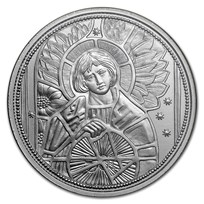 2018 Austria Silver €10 Guardian Angels (Uriel)
