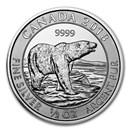 2018 Canada 1/2 oz Silver Polar Bear BU