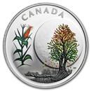 2018 Canada 1/4 oz Silver $3 Thirteen Teachings Corn Moon