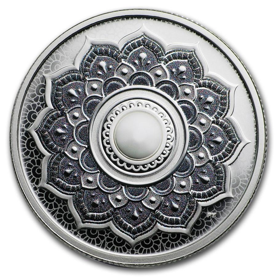 2018 Canada 1/4 oz Silver $5 Birthstones: June