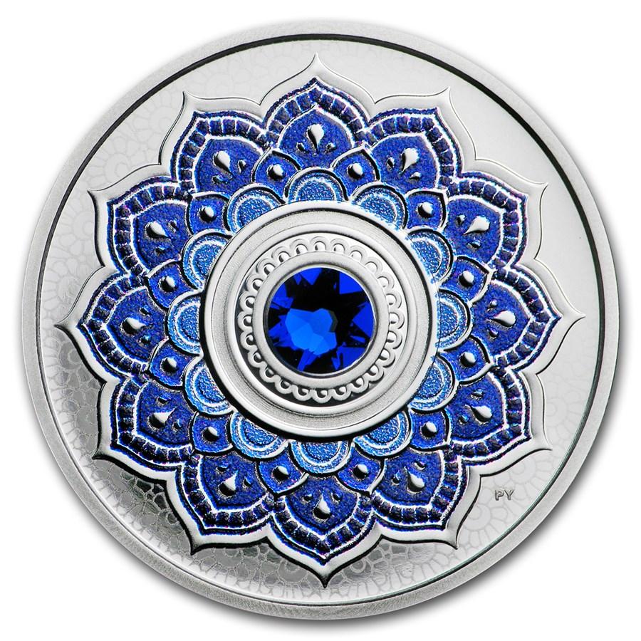 2018 Canada 1/4 oz Silver $5 Birthstones: September