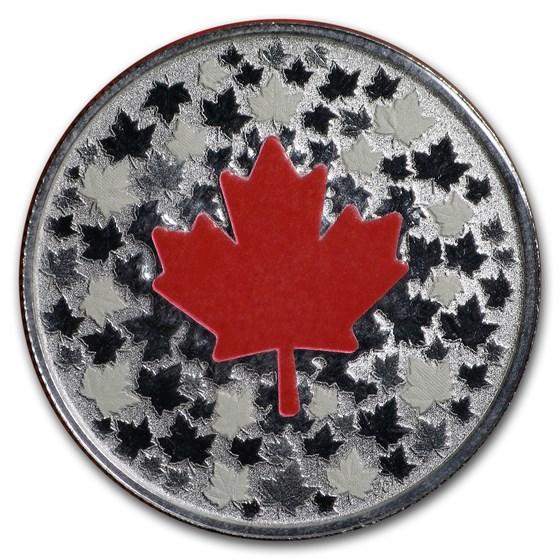 2018 Canada 1/4 oz Silver $5 Hearts Aglow