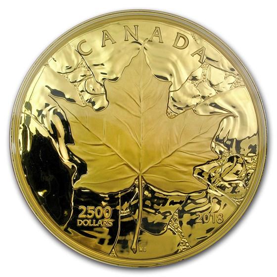 2018 Canada 1 Kilo Gold Sugar Maple Majesty