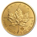 2018 Canada 1 oz Gold Maple Leaf BU