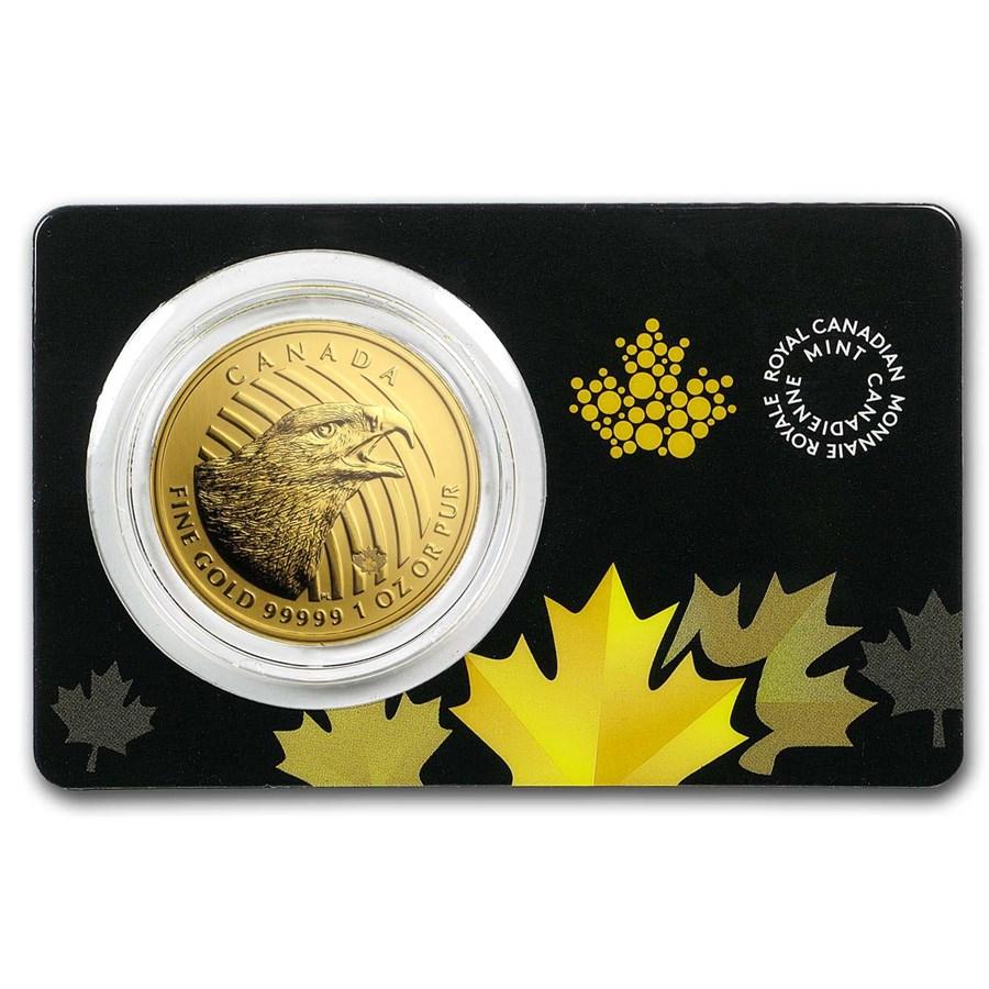 2018 Canada 1 oz Golden Eagle .99999 BU (Assay Card)