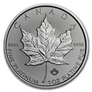 2018 Canada 1 oz Platinum Maple Leaf BU