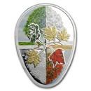 2018 Canada 1 oz Silver $20 Four Seasons of the Maple Leaf