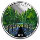 2018 Canada 1 oz Silver $20 Maple Tree Tunnel