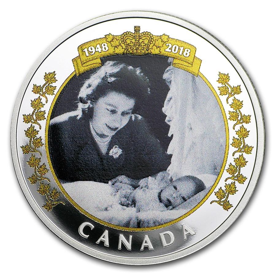 2018 Canada 1 oz Silver $20 Royal Portrait