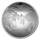 2018 Canada 1 oz Silver $25 180th Anniversary of Baseball