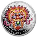 2018 Canada 1 oz Silver $25 Dragon Boat