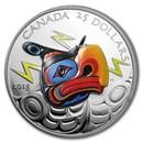 2018 Canada 1 oz Silver $25 Thunderbird