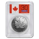 2018 Canada 1 oz Silver Maple Leaf Mod Pf PCGS PR-70 DCAM (FS)