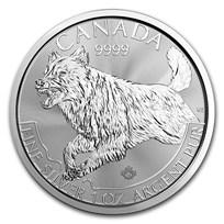 2018 Canada 1 oz Silver Predator Series Wolf