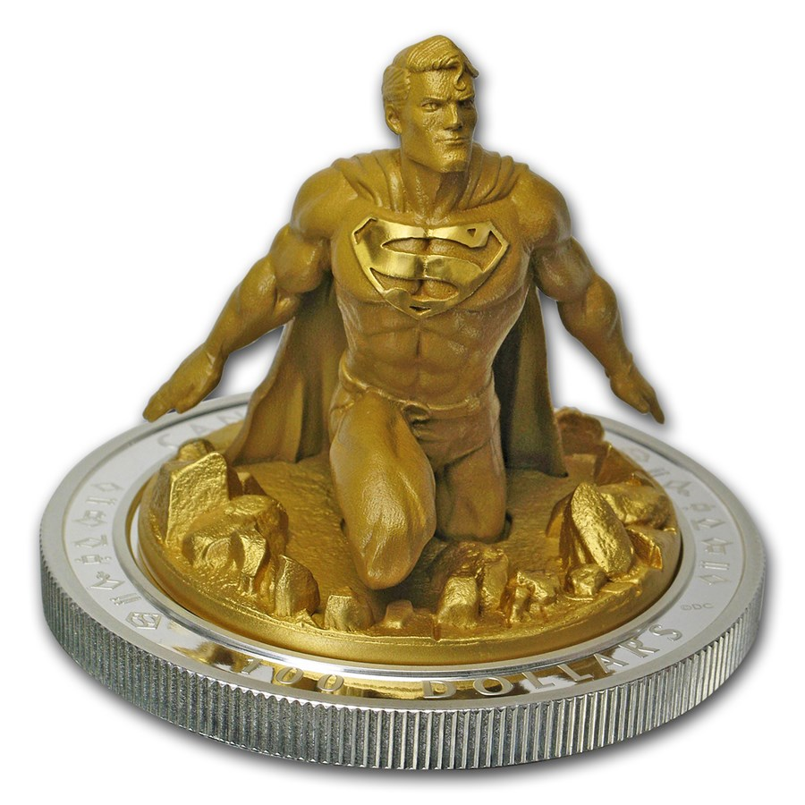 2018 Canada 10 oz Silver $100 SUPERMAN™: The Last Son of Krypton