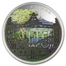 2018 Canada 2 oz Silver $30 Halifax Public Gardens