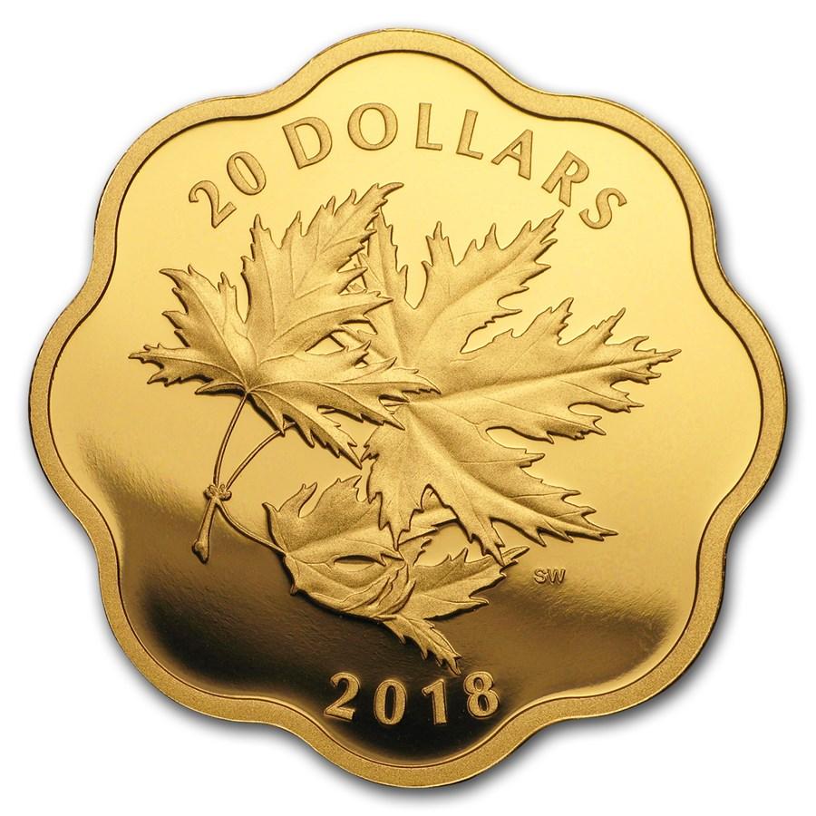 2018 Canada 3/4 oz Silver Master Club Iconic Maple Leaves