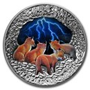 2018 Canada 5 oz Silver Nature's Light Show: Stormy Night